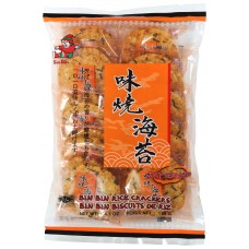 Bin Bin Spicy Seaweed Rice Cracker 賓賓味燒海苔米菓